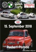 """Besondere Premiere: Austrian Rallye Legends erfreuen mit """"Pucherl""""-Parade!"""