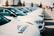 Vredestein Österreich übergibt 45 VW T-TOC im Rahmen der Pannonia Carnuntum