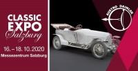 Classic Expo Salzburg, 16. - 18.10.2020